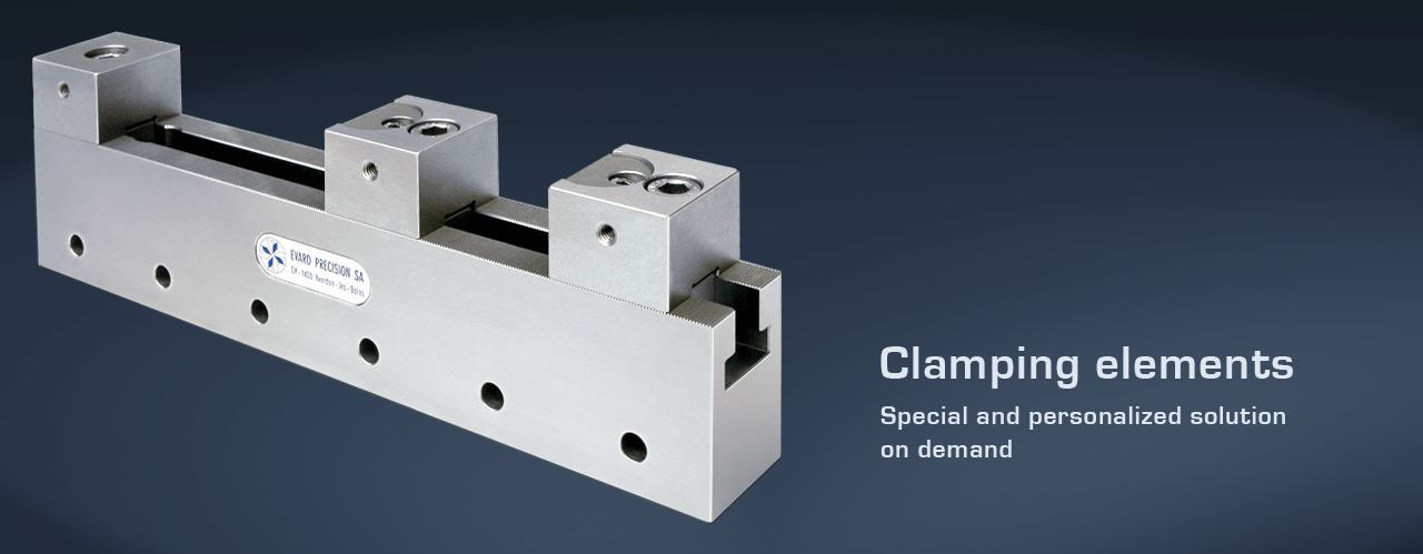 Clamping elements - personalized solution
