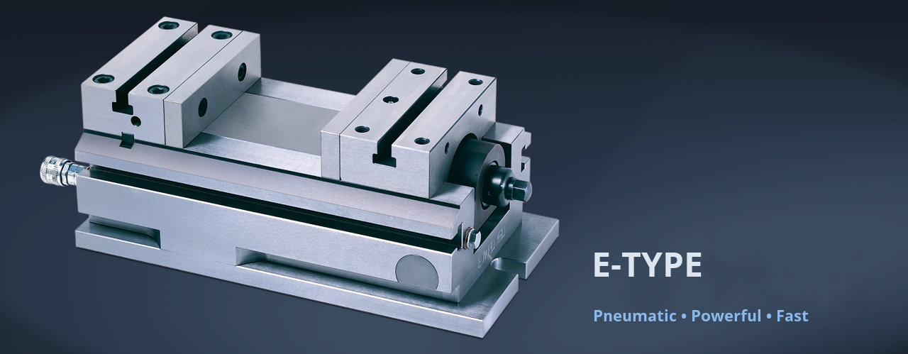 Type-E - pneumatical vice